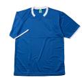 【メール便可】半袖ゲームシャツ(Dブルー×ホワイト)