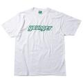 ロゴTシャツA(ホワイト×グリーン)
