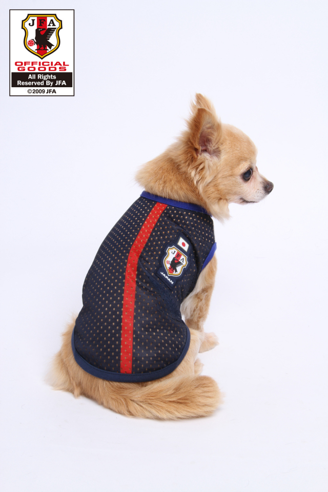 ペットグッズ通販MomotoNana クールクールプラス サッカー日本代表モデル