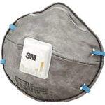 【3営業日以内に出荷】スリーエム 使い捨て式防じんマスク(活性炭入り・排気弁付) 9913JV DS2 10枚入り