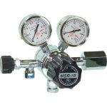 【送料無料、メーカー取り寄せ】 ヤマト産業 分析機用二段圧力調整器 MSR1B12TRC(水素用)