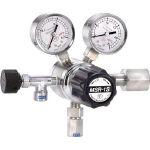ヤマト産業 分析機用二段圧力調整器 MSR1S11TRC(酸素・窒素・アルゴン・空気用)