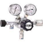 【送料無料、メーカー取り寄せ】 ヤマト産業 分析機用二段圧力調整器 MSR1S13TRC(ヘリウム用)