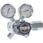 【送料無料、メーカー取り寄せ】 ヤマト産業 分析機フィン付二段微圧調整器 NHW1BLTRC(炭酸ガス用)