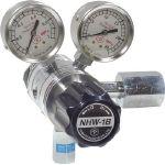 【送料無料、メーカー取り寄せ】 ヤマト産業 分析機フィン付二段圧力調整器 NHW1BTRCCH4(メタンガス用)
