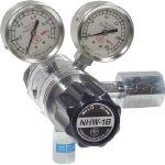 【送料無料、メーカー取り寄せ】 ヤマト産業 分析機フィン付二段圧力調整器 NHW1BTRCCO2(炭酸ガス用)