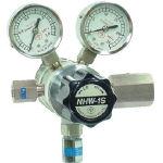 【送料無料、メーカー取り寄せ】 ヤマト産業 分析機フィン付二段圧力調整器 NHW1STRCCH4(メタンガス用)