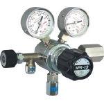 【送料無料、メーカー取り寄せ】 ヤマト産業 分析機用圧力調整器 NPR1STRC12(水素用)