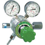 【送料無料、メーカー取り寄せ】 ヤマト産業 フィン付圧力調整器 YR200D(メタンガス用)