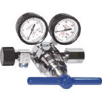 【送料無料、メーカー取り寄せ】 ヤマト産業 高圧用圧力調整器 YR5061HV(窒素・空気用)
