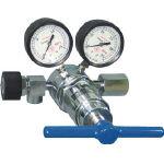【送料無料、メーカー取り寄せ】 ヤマト産業 高圧用圧力調整器 YR5062V(窒素・空気用)