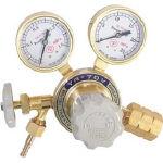 【送料無料、メーカー取り寄せ】 ヤマト産業 ヘリウム用圧力調整器 YR70V2213HG03