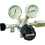 ヤマト産業 分析機用圧力調整器 YR90STRC12(水素用)