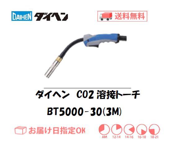 ダイヘン CO2溶接トーチ ブルートーチ3 BT5000-30