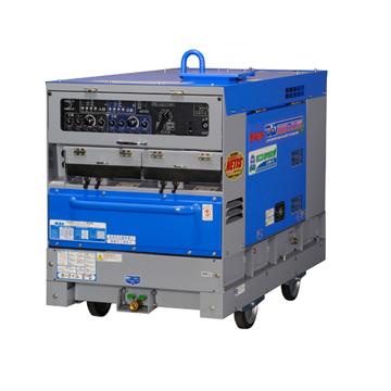 エンジン溶接機【送料無料、メーカー直送品】デンヨー(Denyo) 超低騒音型エンジンTIG溶接機 DAT-200X2LSE(エコベース)2人使用