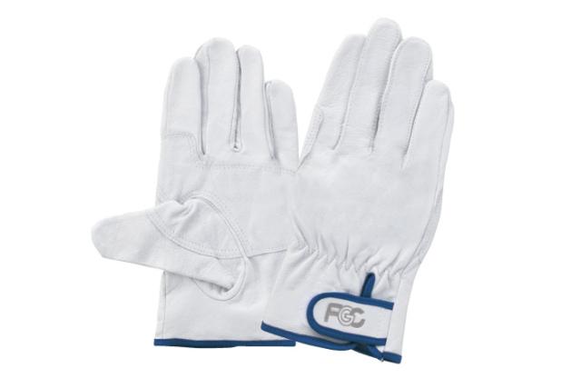 【当日出荷】富士グローブ 豚革クレスト甲メリヤス手袋 F805 1双