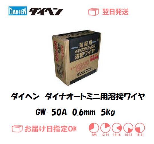 ダイヘン ダイナオートミニ用溶接ワイヤ GW-50A 0.6mm