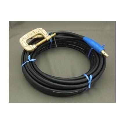 富士電線 延長用アースクリップケーブル(38sq+ケーブルジョイントJA-300オス+アースクリップEB300)