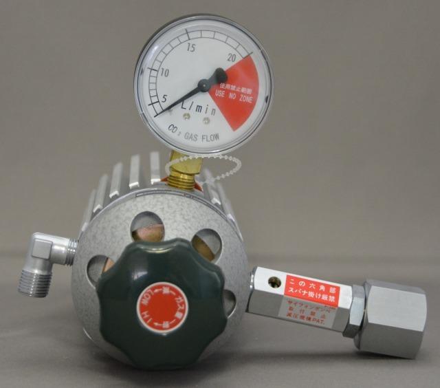 【当日出荷】ユタカ 炭酸ガス用調整器 NP-201