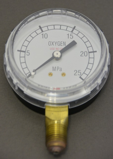 小池酸素 酸素調整器用圧力計(高圧側)