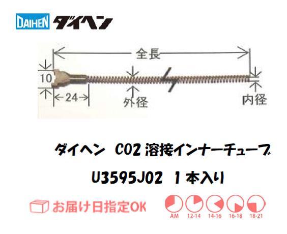 ダイヘン CO2溶接用インナーライナ(ガイドチューブ) U3595J02