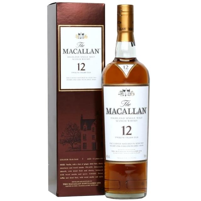 【旧ボトル】マッカラン 12年 シェリーオーク 40% 700ml