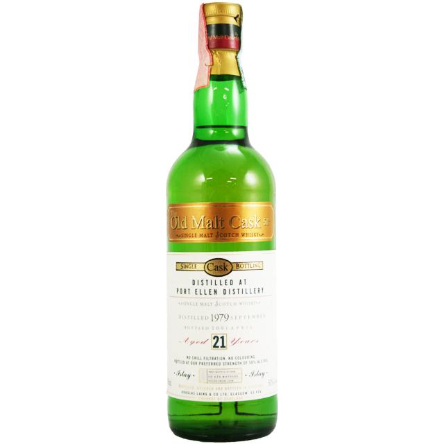 【オールドボトル】ポートエレン 1979 21年 OMCグリーンボトル 2001年詰め 50% 700ml