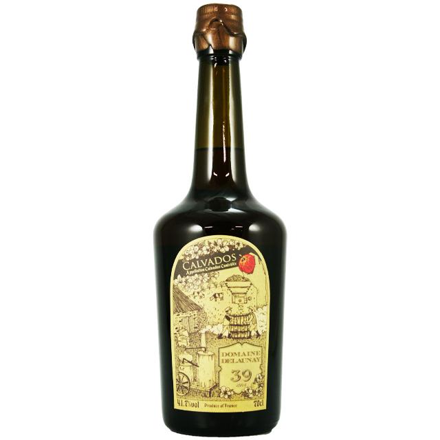 【1977年に蒸留をやめた生産者が奇跡的にストックしていた古酒カルヴァドス!裏話あり】ドメーヌ ドロネー 1974/1975 39年 41.7% 700ml
