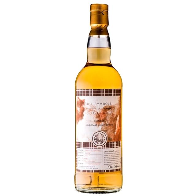 【麦芽の甘さ、ナッツの香ばしさ、焦がしたマシュマロ】フェッターケアン 2008 9年 シンボルズオブスコットランド 54% 700ml