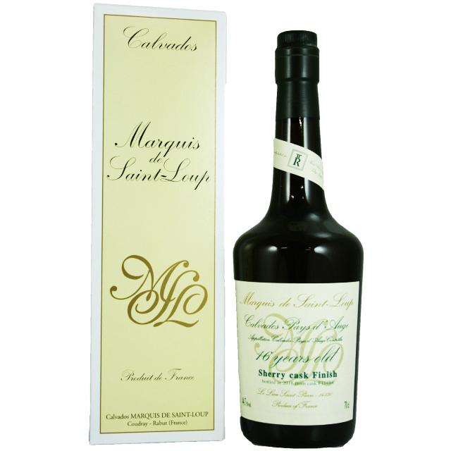 【オーク、リンゴの蜜、ドライシェリー】マルキドサンループ 16年 2018瓶詰め for スリーリバーズ 44.7% 700ml