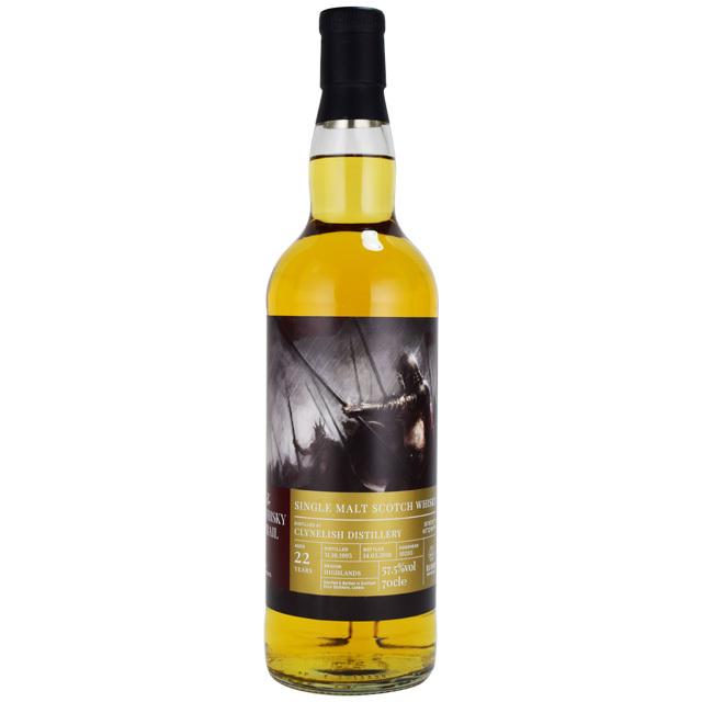 【蜂蜜、オレンジマーマレード、アプリコットソース】クライヌリッシュ 1995 22年 ウィスキートレイルナイト 57.5% 700ml