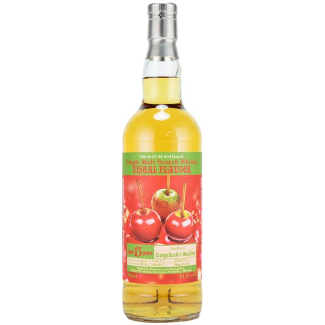 【飴とジューシーなリンゴのハーモニー、リンゴの蜜の甘みとオークスパイス】クライゲラキ 2006 13年 ヴィジュアルフレーバー 61.9% 700ml