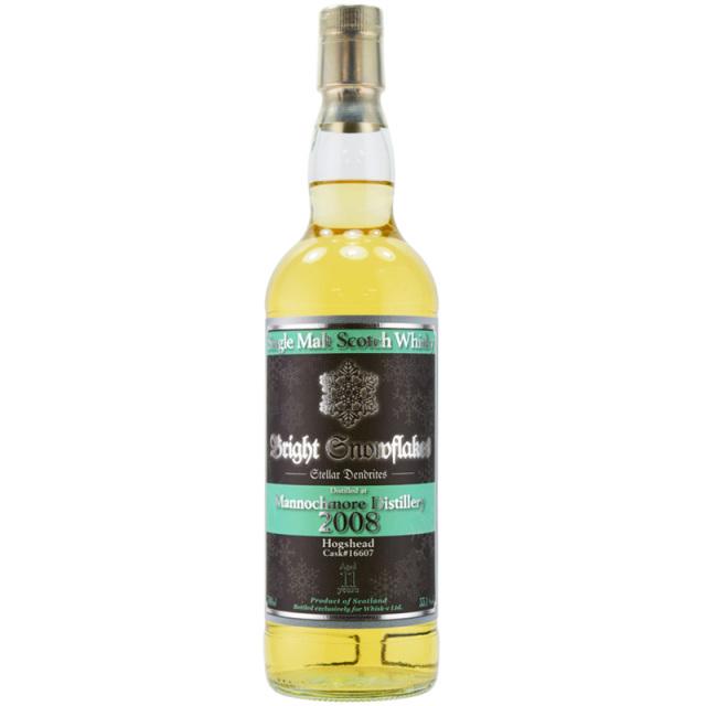 【綿あめの甘い香り、熟したレモン、白ブドウの爽やかなアロマ】マノックモア 2008 11年 スノーフレーク 55.1% 700ml