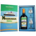 【TCRLグラス2脚付き★心地良いフルーツ、ココア、ジューシーで美味なオレンジ】ニカラグア 2004 12年 トランスコンチネンタルラム グラス付き 43% 700ml
