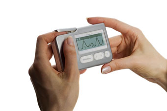 ストレス軽減・呼吸トレーニング【STRESSERASER】 ストレスイレイザー StressEraser Portable Biofeedback Device