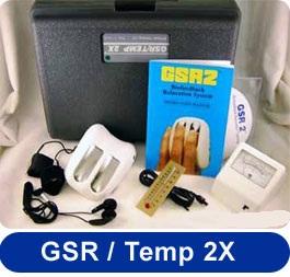 GSR Temp 2X Deluxe Biofeedback Machine
