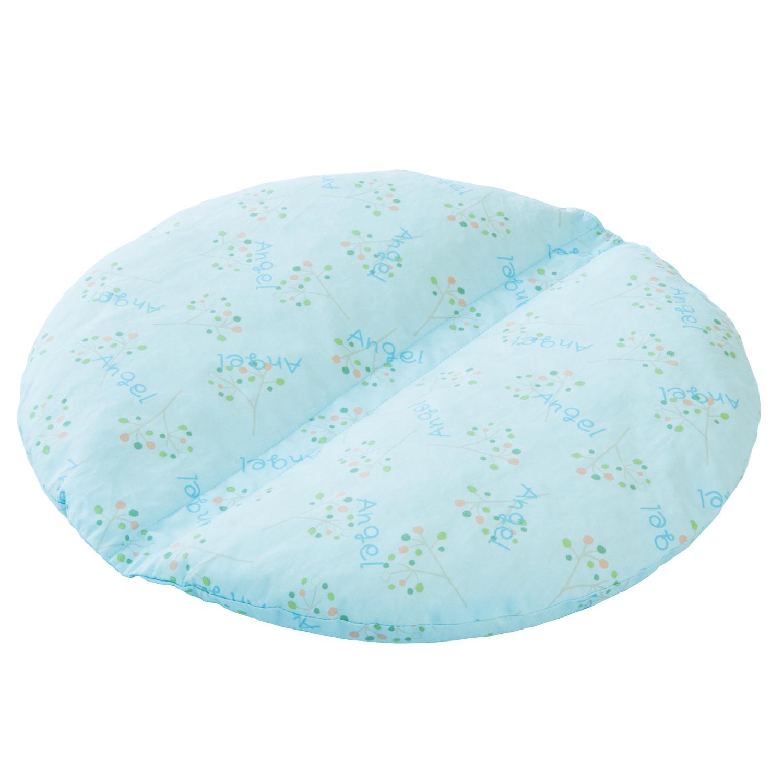 ANGEL(エンゼル)[通気ビーズ フリークッション2円型タイプ/1634]床ずれ(褥瘡)予防 抗菌防臭機能付き 丸洗い・折りたたみ可能 多目的クッション