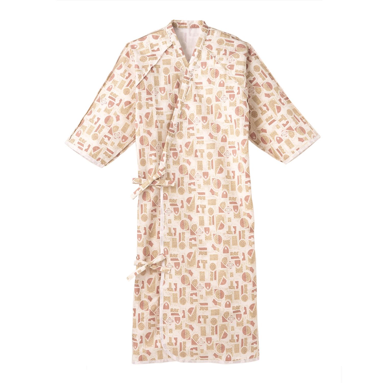 ANGEL(エンゼル)ロングセラー[ケアねまき(ガーゼタイプ)/5074]綿100% 寝たきり 入院着 介護服 パジャマ