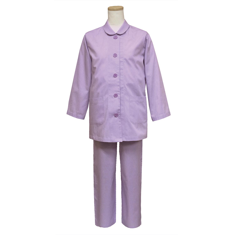 【送料無料】ANGEL(エンゼル)[やさしいパジャマ3 上下セット(婦人用) S/M/L/LLサイズ/NKY-571]綿100% 袖口オープン シニア 着やすい設計