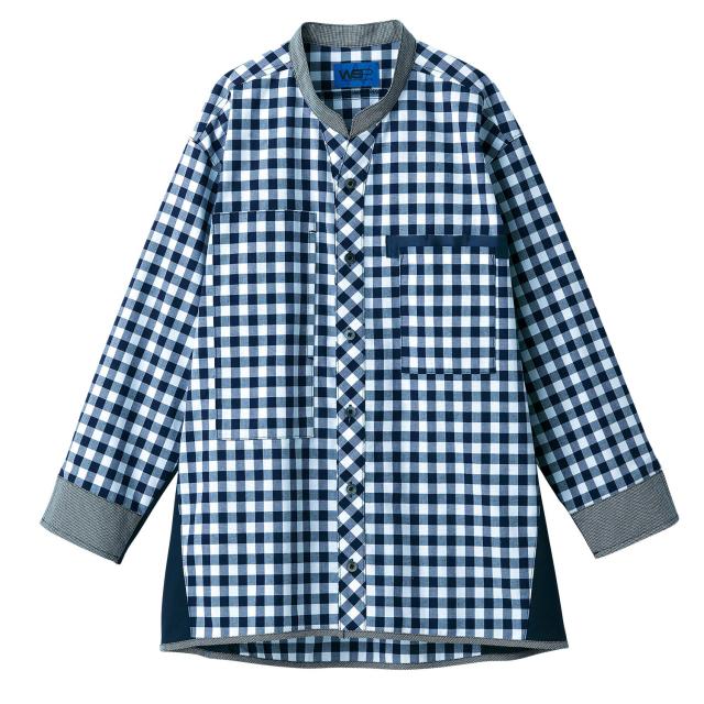 ifory[八分袖シャツ(男女兼用)/6352]介護ユニフォーム チュニック