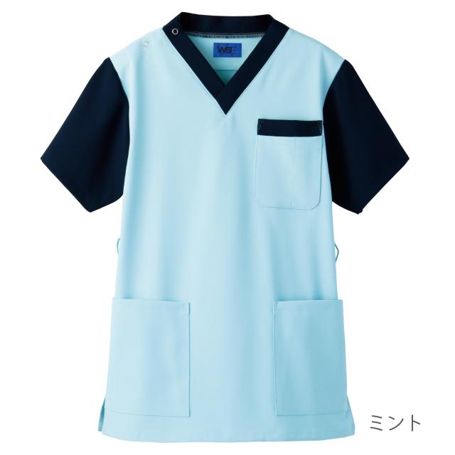 ifory[チュニック(男女兼用)/6543]介護士ユニフォーム おしゃれ