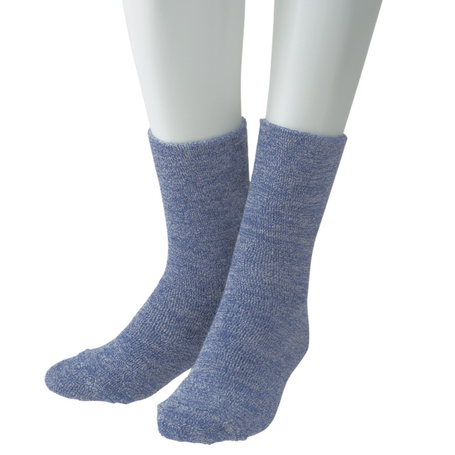 ANGEL(エンゼル)[ゆったりパイルソックス(ショート)/9061]履き口ゆったり靴下