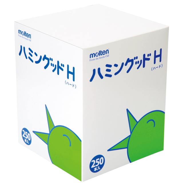 【送料無料】モルテン[ハミングッドハード(250本入)/MHGH250]口腔ケアスポンジ