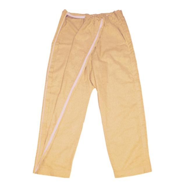 【送料無料】ANGEL(日本エンゼル)介護[やさしいパジャマ2 パンツのみ(両開き/紳士用)S/M/L/LLサイズ/MST-510B1]ズボン