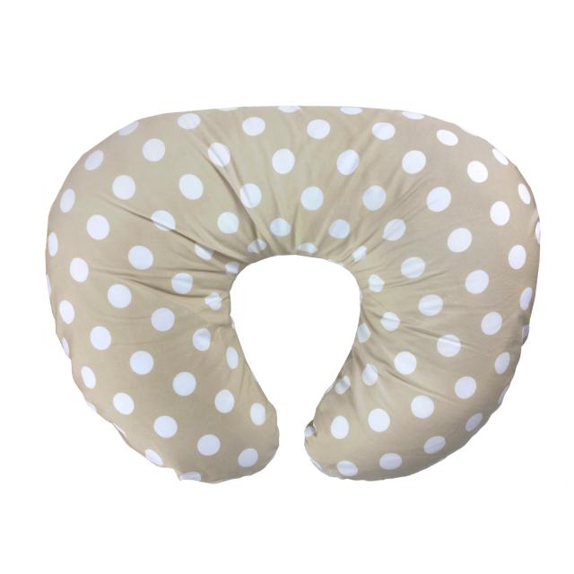 【送料無料】授乳にも使えるマルチクッション カバー付き お昼寝枕/YU1000