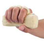ANGEL(エンゼル)手指の拘縮に [通気ビーズスティック/1073]にぎり棒 手指の蒸れ・臭い対策 丸洗いOK