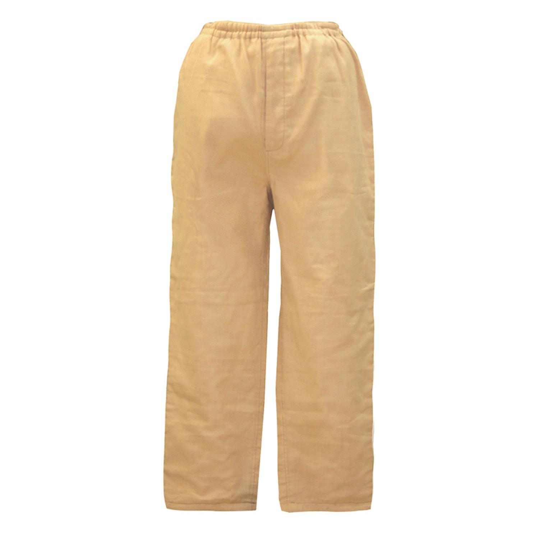 【送料無料】ANGEL(エンゼル)コットン100%[やさしいパジャマ2 パンツのみ(前開き/紳士用) S/M/L/LLサイズ/MST-510B] 股上短めすっきりズボン シニア