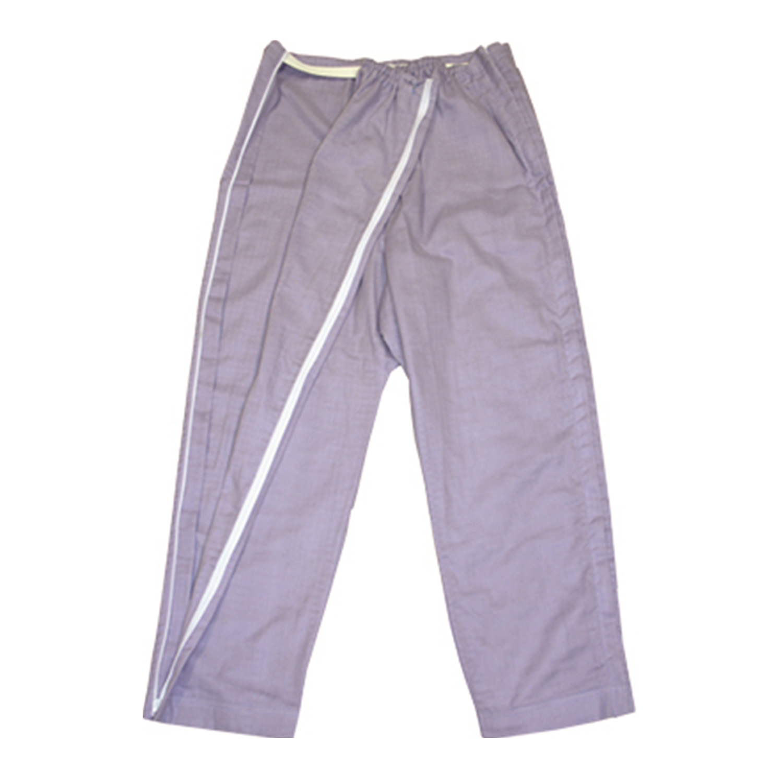 【送料無料】ANGEL(エンゼル) おむつ替え簡単[やさしいパジャマ2 パンツのみ(両開き/婦人用) S/M/Lサイズ/MST-511B1]左右両開きファスナー 綿100%使用 股上ゆったりズボン シニア