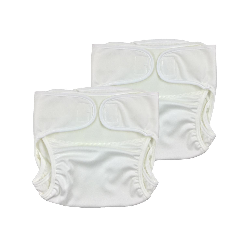 【ネコポス送料無料】超撥水布おむつカバー2枚セット 新生児 日本製/YU3000