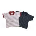 【送料無料】ボーダー柄ベビーポロシャツ 80 男の子 女の子 日本製 コットン/8506952